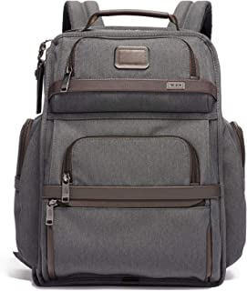Tumi Mens Alpha Brief Backpack, Anthracite, Grey, One Size