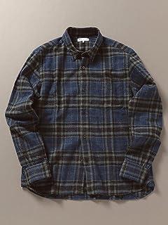 [シップスジェットブルー] ネルシャツ チェック レギュラーカラー サーモギア メンズ 121150291