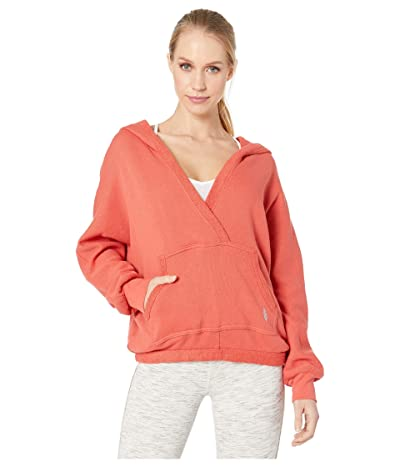 FP Movement Reyes Hoodie Solid (Red) Women
