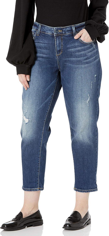 SLINK Outlet SALE Women's Plus Size Jean cheap Boyfriend