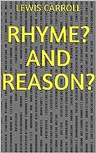 Rhyme? And Reason? (English Edition)
