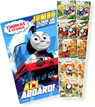 Thomas The Train Coloring Book with Thomas and Friends Stickers