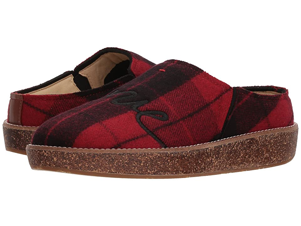 ED Ellen DeGeneres Tillie Slipper (Red/Black Tartan) Women