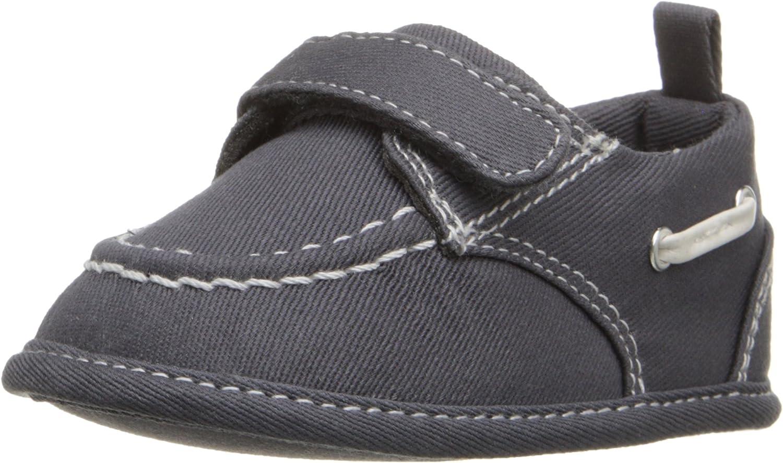 The Children's Place Newborn Dress Boat Shoe (Infant)