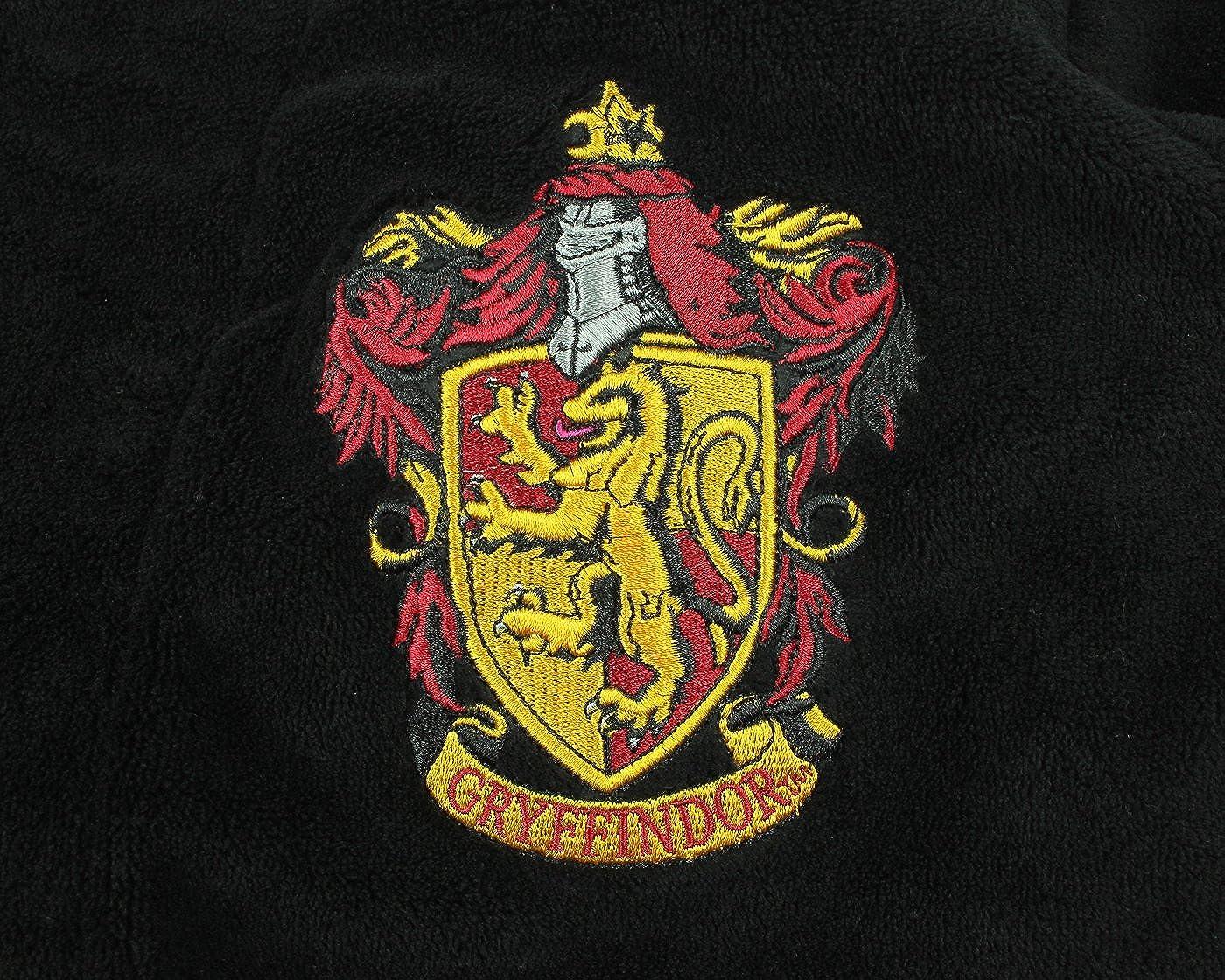 Harry Potter ALL HOUSES Adult Fleece Hooded Bathrobe (Big and Tall)