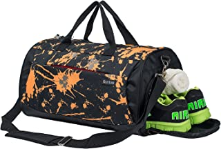 Kuston Sports Gym Bag with Shoes Compartment Travel Duffel Bag for Men and  Women 300c481206bcb