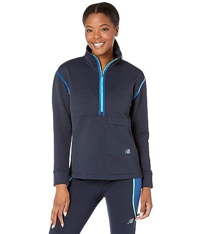 New Balance Q Speed Fuel Sweatshirt (Eclipse) Women
