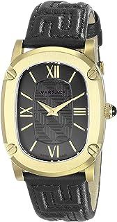 Versace Women's VNB030014 COUTURE Analog Display Swiss Quartz Black Watch