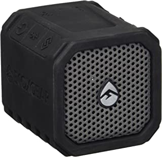 ECOXGEAR EcoDuo Rugged & Waterproof Wireless Bluetooth Speaker 2 Pack for Stereo Play - Black