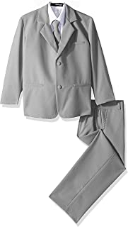 Formal Suit Set Silver for Boys from Baby to Teen (10)