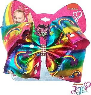 Jojo Siwa Girls Big Bows - Jojo's Sweet 16 Birthday Collection, Rainbow