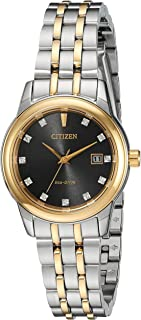 Citizen Women's Eco-Drive Two-Tone Watch with Diamond Accents
