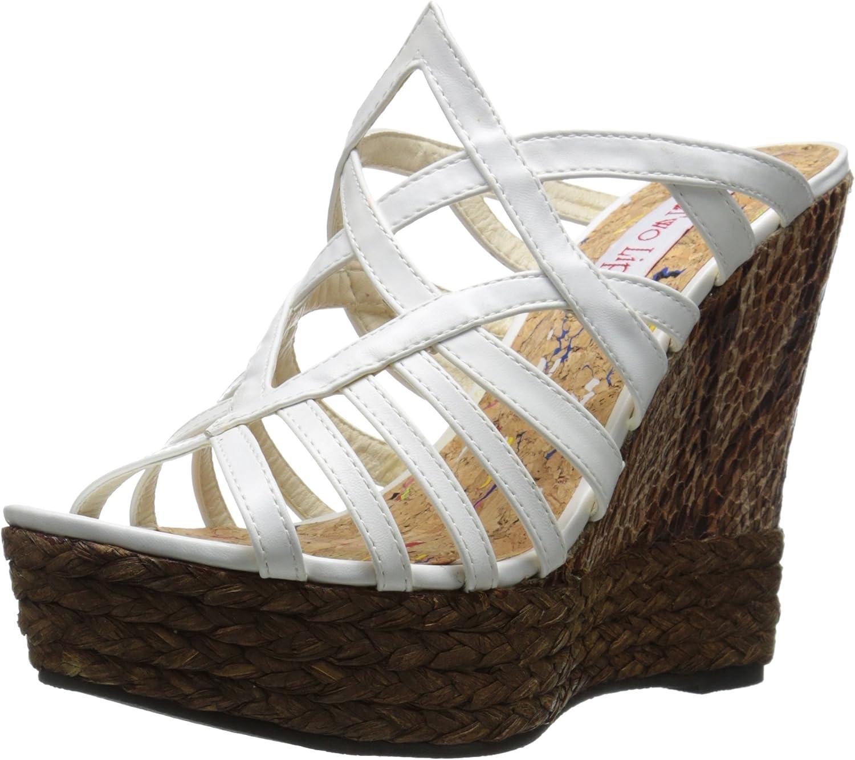 Two Lips Women's Daniella Wedge Sandal