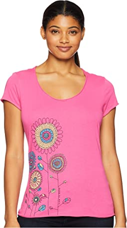 Playful Flowers Smooth T-Shirt