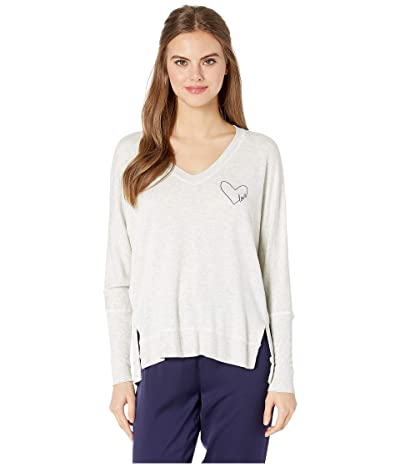 good hYOUman Carrie Love In Heart Sweater (Natural) Women