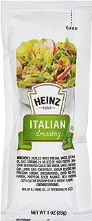Heinz Italian Dressing Single Serve (1 oz Packets, Pack of 100)