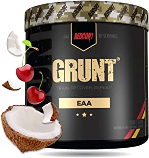 Redcon1 Grunt, EAAs, 30 Servings, Recovery Supplement (Tigers Blood)