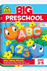 School Zone - Big Preschool Workbook - Ages 3 to 5, Colors, Shapes, Numbers 1-10, Early Math, Alphabet, Pre-Writing, Phonics, Following Directions, and More (School Zone Big Workbook Series) Paperback
