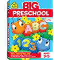 School Zone Big Preschool Workbook Ages 3 to 5