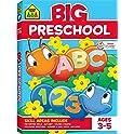 School Zone Big Preschool Workbook Ages 3 to 5