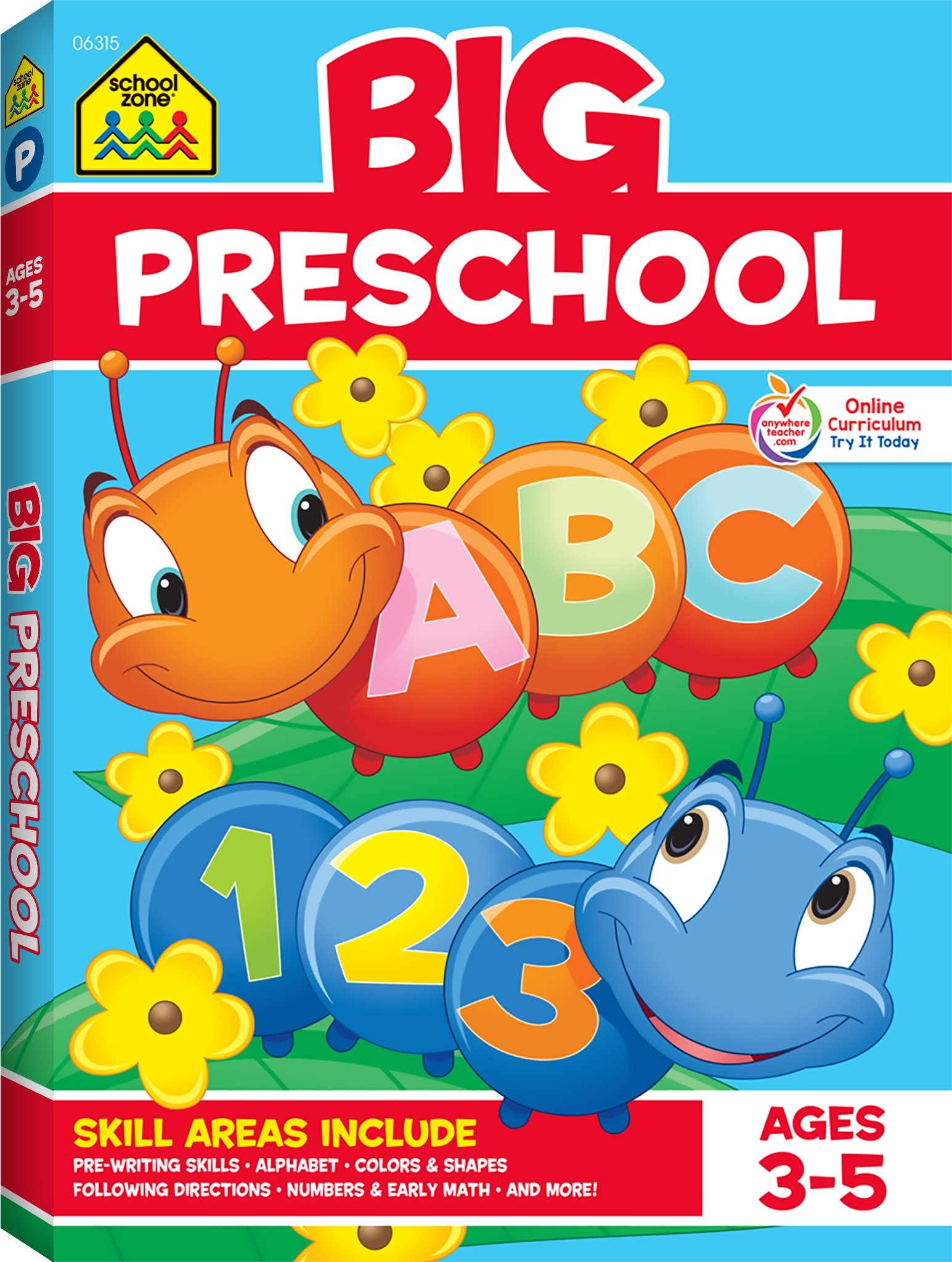 Cover image of School Zone: Big Preschool Workbook by School Zone & Joan Hoffman