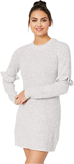 Melange Knit Sweater Dress KSDK8326