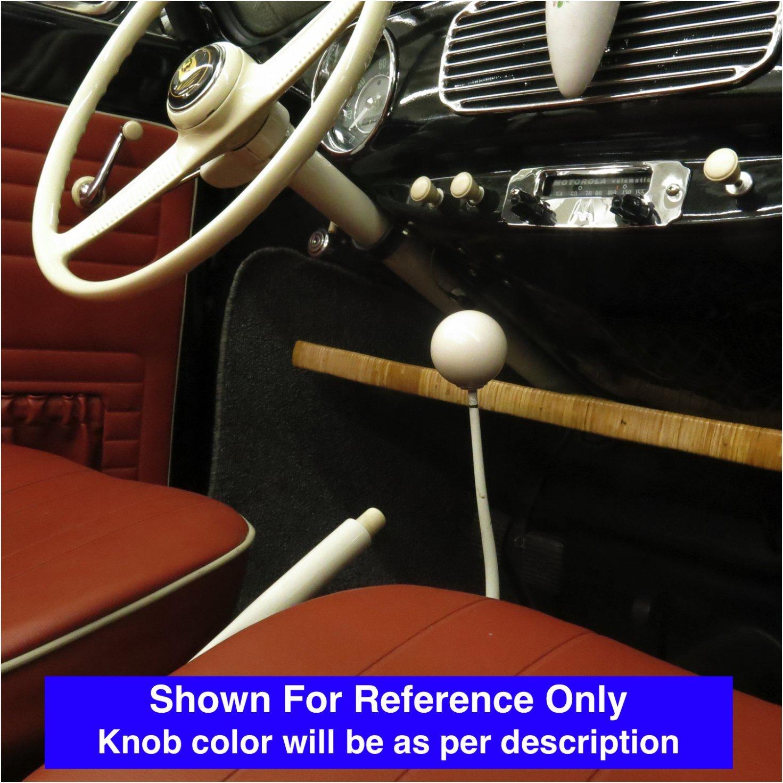 American Shifter 34229 Ivory Shift Knob with 16mm x 1.5 Insert Green Yin /& Yang
