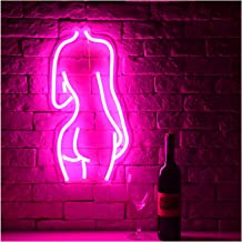 LED Neon Sign Lights Art Wall Decorative Lights Pink
