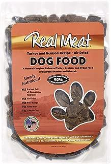 Real Meat Company Air Dried Turkey & Venison Dog Food, 2-Lb Bag