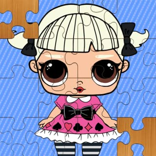 Cute Dolls Puzzle Jigsaw for kids