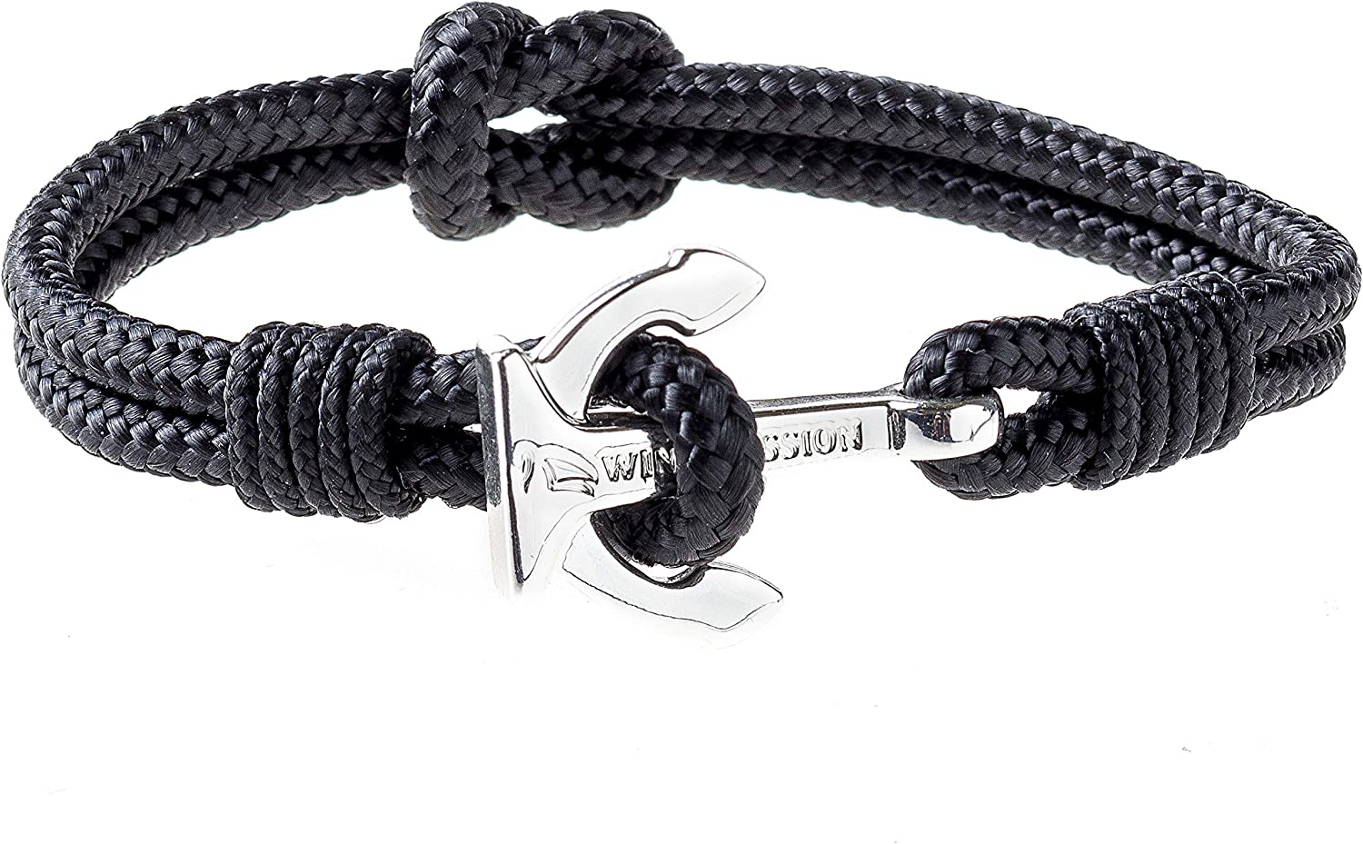 Wind outlet Passion Kansas City Mall Premium Anchor Bracelet Durable Rope Nautical Cuff