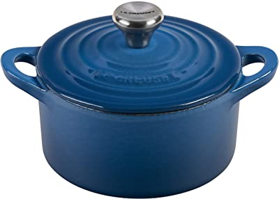 Le Creuset Enameled Cast Iron Signature Round Dutch Oven, 1 qt., Marseille
