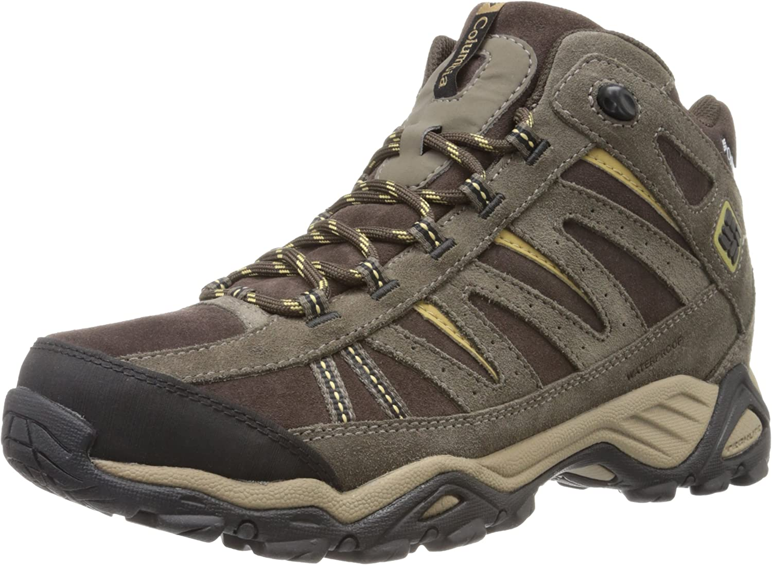 Columbia Men's North Plains Mid Leather Waterproof Hiking shoes