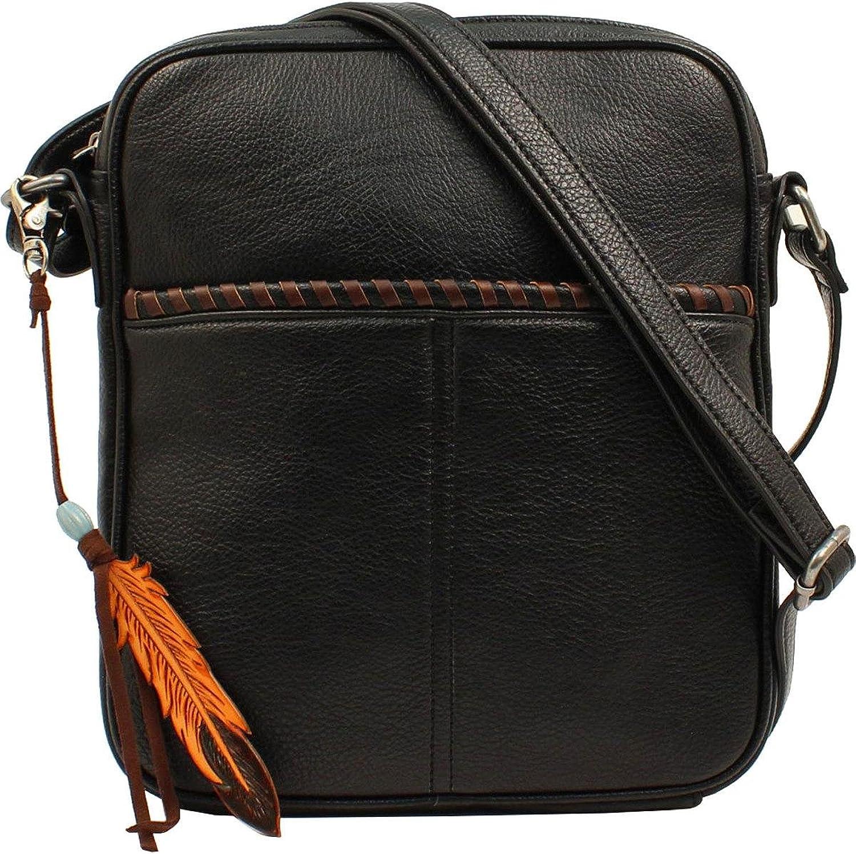 Blazin Roxx Western Handbag Womens Teagan Messenger Black N7510367