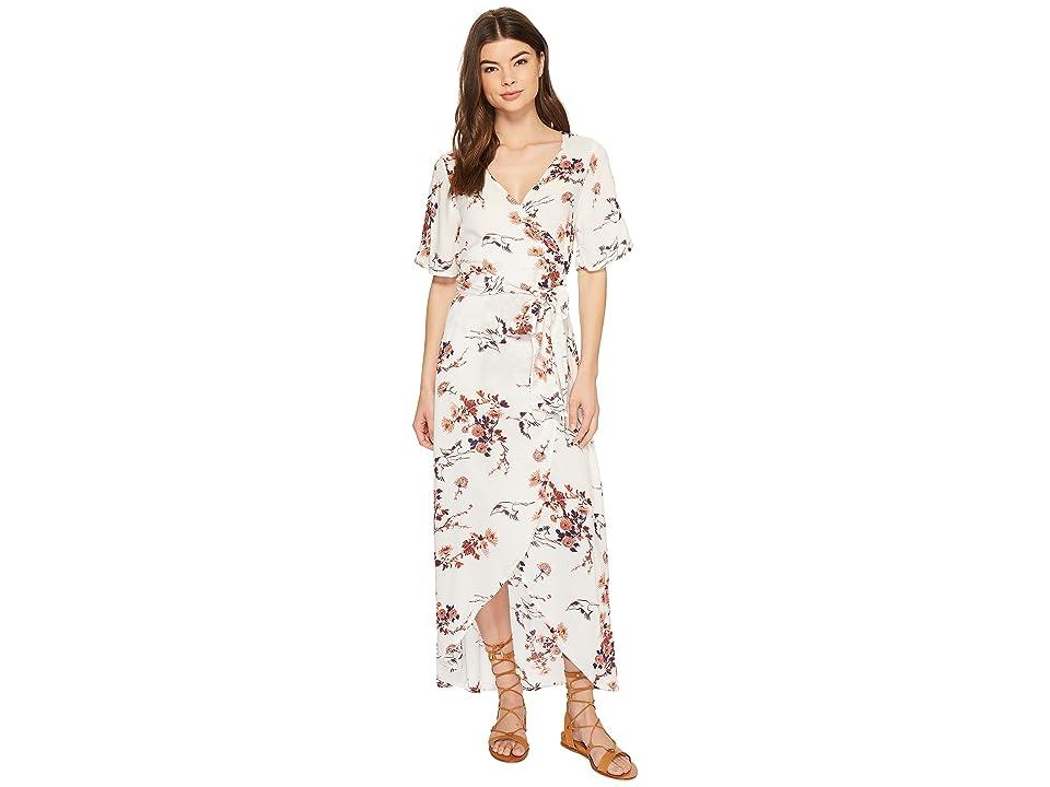 Roxy Keep The Seas Dress (Tapioca Serene Crane Print) Women