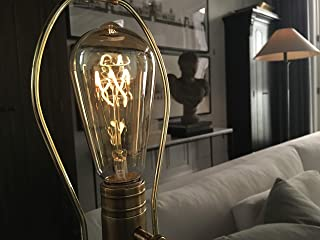 The Burton Bulb - Edison Style 3W=25W LED Dimmable Light Bulb with Flicker-Less LED Technology