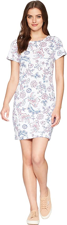 Joules - Riviera Short Sleeve Printed Jersey Dress