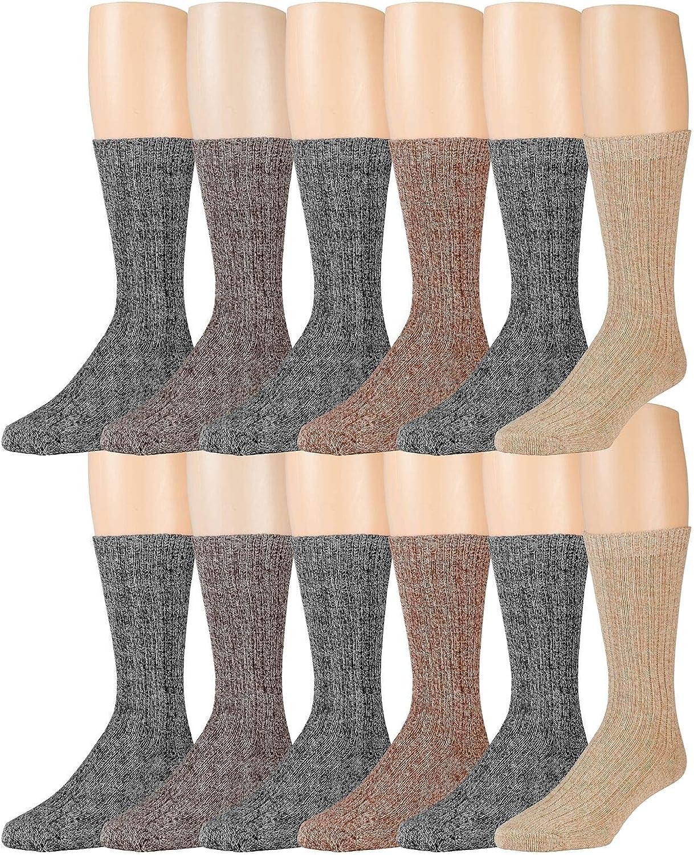 Merino Wool Socks Warm Crew Winter Thermal 受賞店 《週末限定タイムセール》 and For Mens