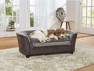 Enchanted Home Pet Panache Gray Sofa, 42