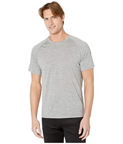 Smartwool Merino 150 Baselayer Short Sleeve (Light Gray Heather) Men