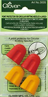 Clover 3005 Point Protectors for Circular Knitting Needles Large