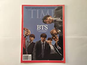 Time Magazine BTS Cover Rare United States edition October 22,2018