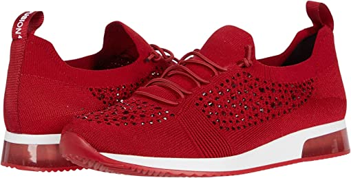 Red Woven Stretch