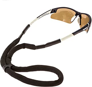 Luxe Performance Floaters - Premium Floating Adjustable Sunglasses Strap and Eye Wear Retainer (Black)