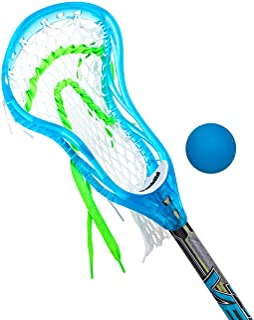 "Franklin Sports Mini Pro Style Venom Lacrosse Stick & Ball Set - 34"""