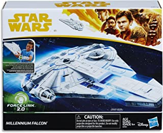 STAR WARS - Millennium Falcon with Escape Craft - Force Link 2.0 - Kids Action Hero Toys - Ages 4+