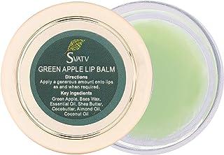SVATV - Uniwersalny balsam do ust z ziołami 15 g :: Wyprodukowano w Indiach (zielone jabłko)