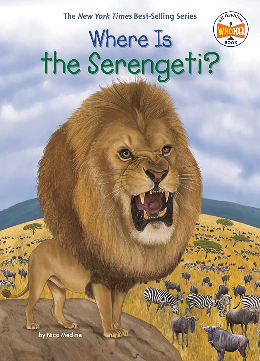 なんでも触覚永久にWhere Is the Serengeti? (Where Is?) (English Edition)