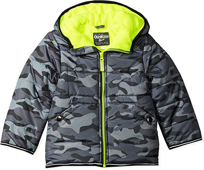 OshKosh BGosh Girls Perfect Colorblocked Heavyweight Jacket Coat