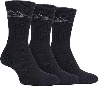 3 Pack Hombre Algodon Antiampollas Trekking Senderismo Calcetines